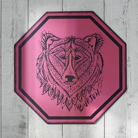 Burton Grizzly Sign