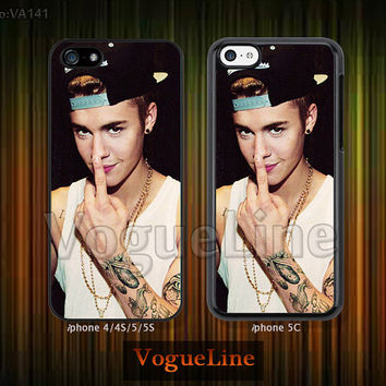 Justin bieber iPhone 5 case iPhone 5c case iPhone 5s case iPhone 4 case iPhone 4s case, iPhone case, Phone case Justin bieber--VA141
