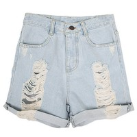 Jeansshorts - Cut And Run - Shorts - Byxor & Shorts - Dam - Modekungen
