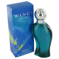 Wings By Giorgio Beverly Hills After Shave 3.4 Oz