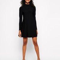 River Island Long Sleeve Swing Dress