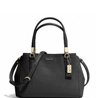 Coach Mini Madison Christie Carryall in Saffiano Leather