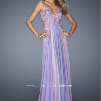 La Femme 19745 at Prom Dress Shop