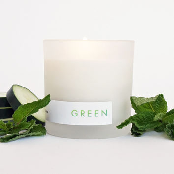 GREEN Natural Soy Candle, 8oz