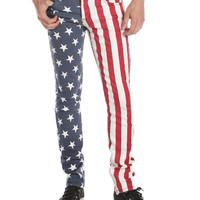 Lip Service Stars & Bars Skinny Fit Jeans