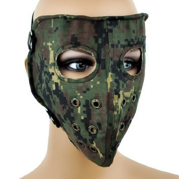 Camouflage Hunting / Motorcycle Full Mask