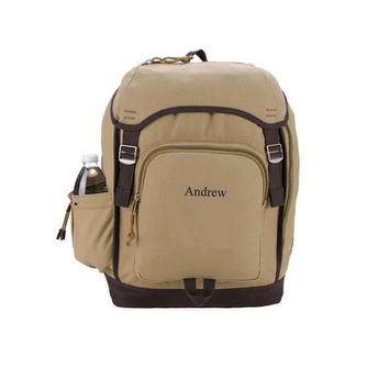 Heritage Khaki Supply Backpack