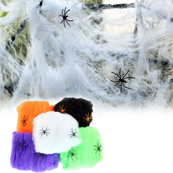 Spider Web Halloween-2pcs/lot