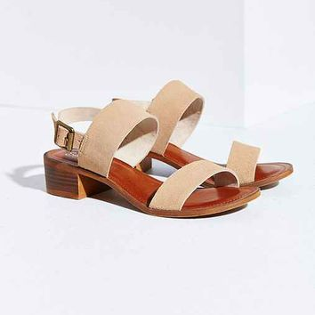 Seychelles Cassiopeia Suede Sandal- Light Brown