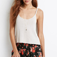 Rose Print Smocked Shorts