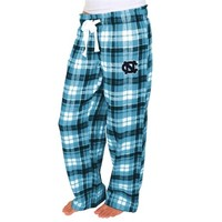 North Carolina Tar Heels Women's Carolina Blue Reign Flannel Pants