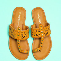 Young Horizon Sandal - Whiskey