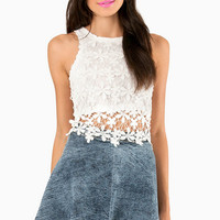 Have A Daisy Day Crop Top $26