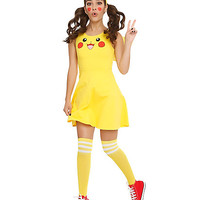 Pokemon Pikachu Costume Dress