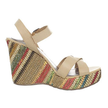 Matisse Coconuts Madrid - Natural Wedge Sandals