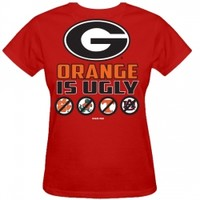 UGA Orange is Ugly T-Shirt | Georgia Bulldogs T-Shirt | UGA T-Shirt | Georgia T-Shirt