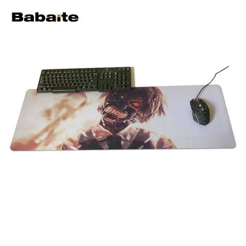 Babaite Tokyo Ghoul Battlefront Unique Design Aming Style Gaming Mouse Pad PC Computer Laptop Gaming Mice Mat For Gamer