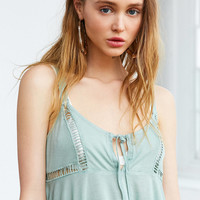 Kimchi Blue Charley Babydoll Cropped Cami | Urban Outfitters