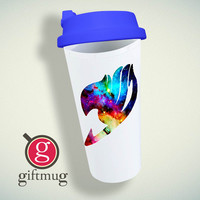 Galaxy Fairy Tail Logo Double Wall Plastic Mug
