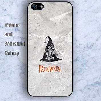 Halloween Hat Wizard iPhone 5/5S case Ipod Silicone plastic Phone cover Waterproof