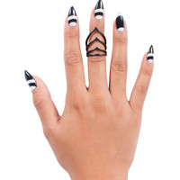 Matte Triple Dagger Ring