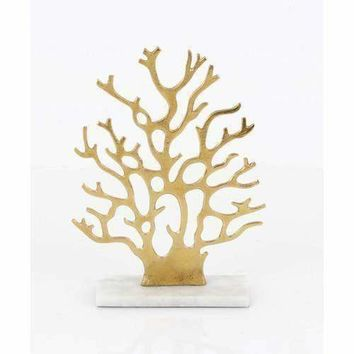 Attractive Aluminum Marble Tree Decor