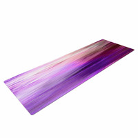 "Ebi Emporium ""Irradiated Multi 2"" Purple Lavender Yoga Mat"