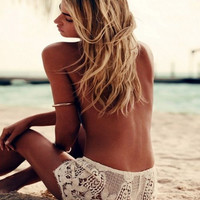 New Lace Beach Shorts
