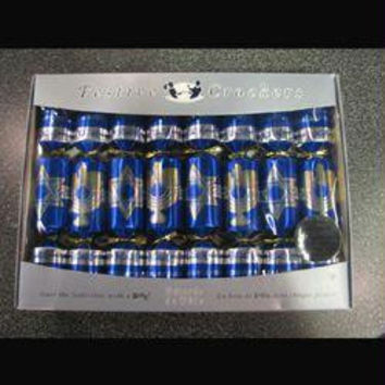 8 Hanukkah Crackers - Contains Party Hat, Joke, And Surprise Novelty Gift When Pulled