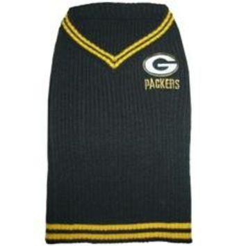 ONETOW Green Bay Packers Pet Sweater SM