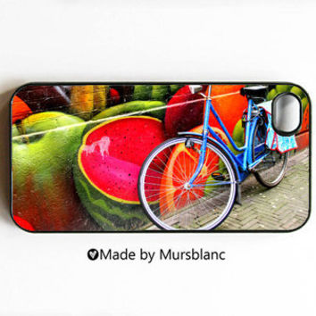 Iphone 4 Case Juicy Bike Watermelon Fruit by HipsterCases on Etsy