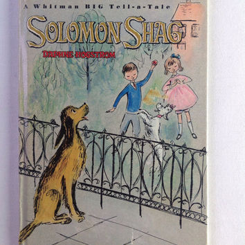 Vintage Solomon Shag Picture Book 1965 Whitman Big Tell a Tale Book Number 2417