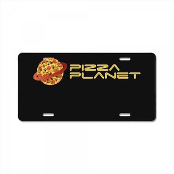 Pizza Planet License Plate