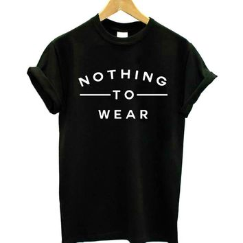 Nothing To Wear T-Shirts - Women's Top Tee