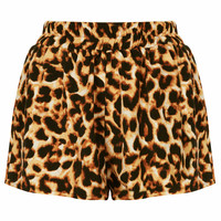 **LEOPARD PRINT HIGH WAISTED SHORTS BY OH MY LOVE