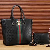 Perfect  Gucci Women Leather Shoulder Bag Satchel Tote Handbag Crossbody