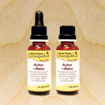 Newton Homeopathics- Aches & Pains