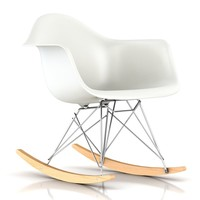 Herman Miller ® Eames RAR Molded Plastic Rocking Chair