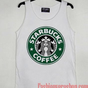 Starbucks Coffee Logo Tank top