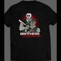 BROTHERS OF HORROR MOVIE PARODY HALLOWEEN T-SHIRT