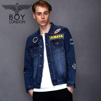 Boy London Men's Patchwork Denim Jacket