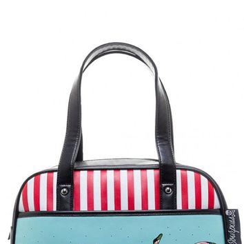 Tattooed Divers Bowler Purse | Blame Betty