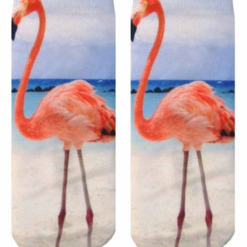 Flamingo Ankle Socks