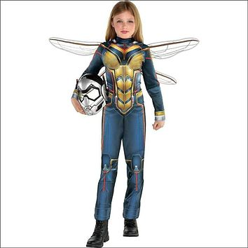 Girls Wasp Costume - Ant-Man and the Wasp