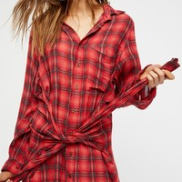 Free People Grunge Mini Dress