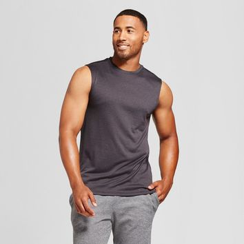 Men's Sleeveless Tech T-Shirt - C9 Champion® Black