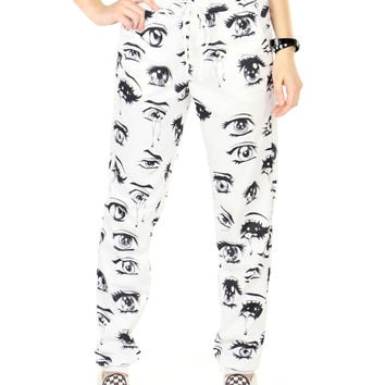 ANIME EYES SWEATPANTS