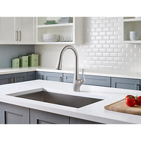 Stainless Steel Clarify With Xtract™ 1-Handle, Pull- Down Kitchen Faucet - F-529-FCYS | Pfister Faucets