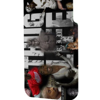 Best 3D Full Wrap Phone Case - Hard (PC) Cover with 2pac tupac THUG LIVE Design