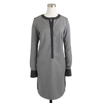 Collection wool flannel shirtdress - j.crew collection - Women - J.Crew